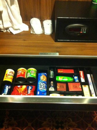 ABC Hotel: The mini bar