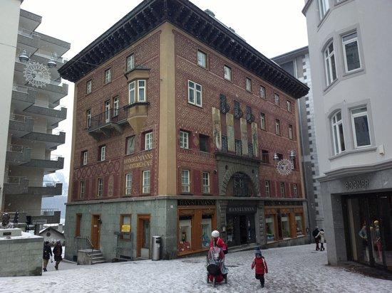 Cafe Hanselmann: Building exterior