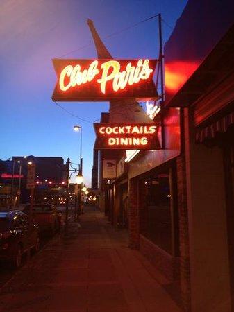 Club Paris: aussenansicht