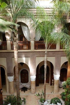 La Villa Nomade: le patio
