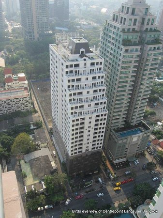 Centre Point Hotel Chidlom: Birds eye view of Centrepoint Langsuan