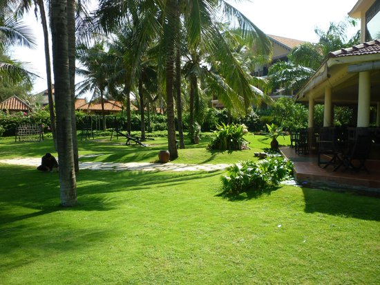 The Beach Resort: Our room from outside