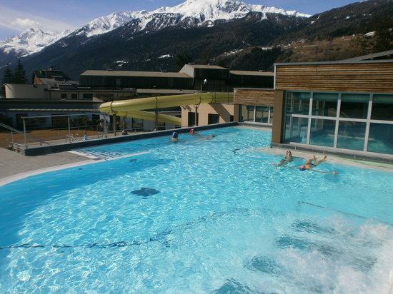 Bormio terme piscine esterne