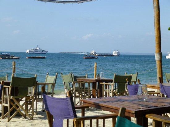Livingstone Beach Restaurant : Seating area of our restaurant