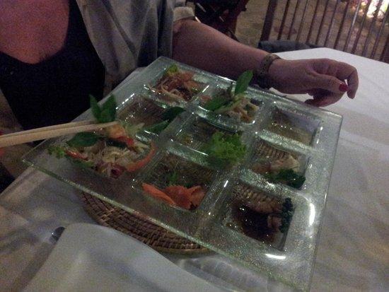 Cassia Restaurant : Gli antipasti