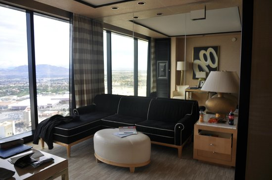 Encore At Wynn  Las Vegas: salon de la suite