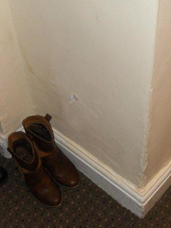 Pembridge Palace Hotel: parte bassa del muro