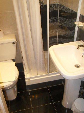 Pembridge Palace Hotel: il bagno è tutto qui