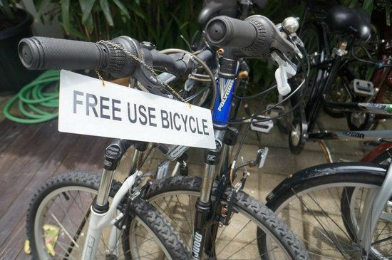 Astana Kunti: free usage of bicycle