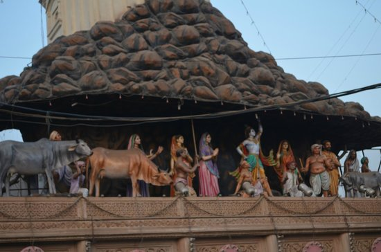 Mathura, Hindistan: Govardhan Temple