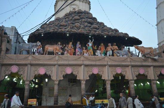 Mathura, India: Govardhan Temple - Govardhan