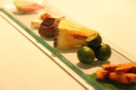 Mozaic Restaurant Gastronomique: the ingredients