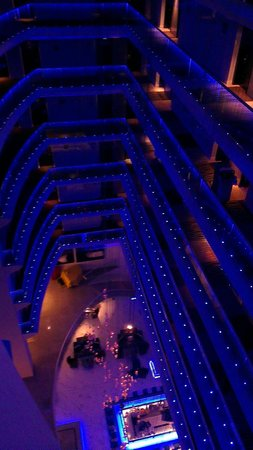 Radisson Blu Hotel Bucharest: night view