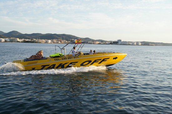 Take Off Ibiza: speed boat adventure&charter boat by Takeoffibiza