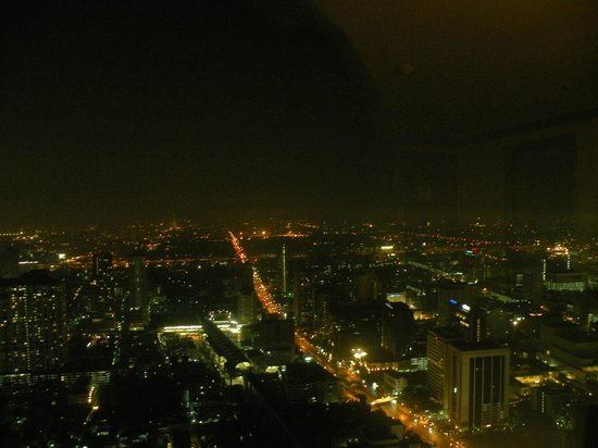 Baiyoke Sky Hotel: 74th floor room view