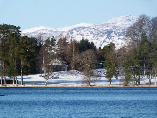 Loch Monzievaird Self Catering Lodges: Taken on walk around the loch