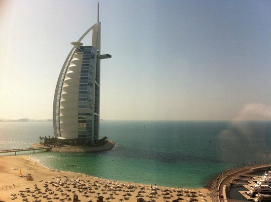 Jumeirah Beach Hotel: Camera con vista
