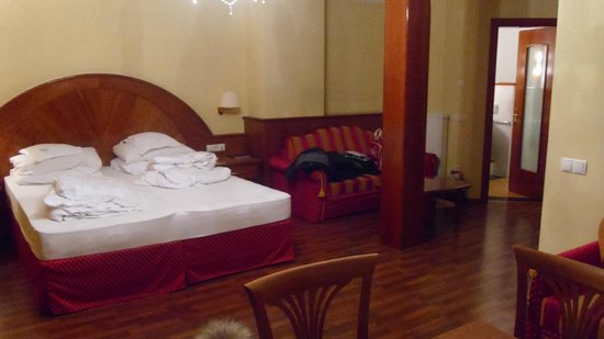 Hotel Oswald: Bedroom