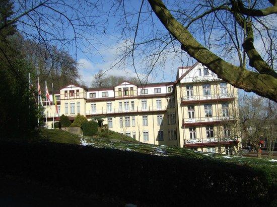 Parkhotel Valkenburg : vue de face de l'hôtel