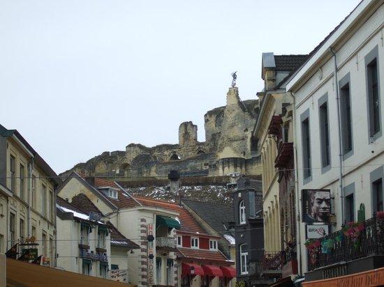 Parkhotel Valkenburg : ruines du chateau
