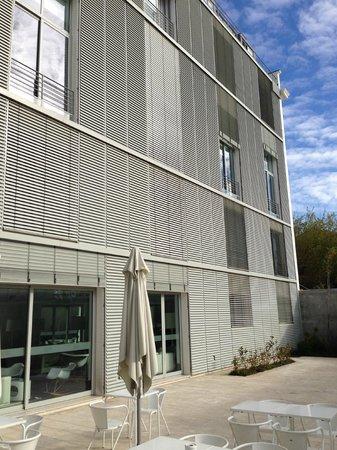 Hotel da Estrela: Außenansicht nach hinten - Terrasse - Ebene -2