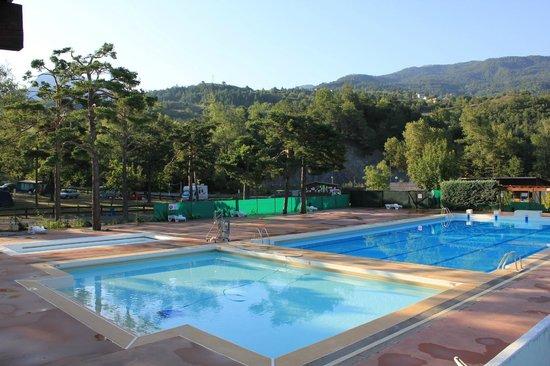 Camping la rochette guillestre hautes alpes voir les for Hotel guillestre avec piscine