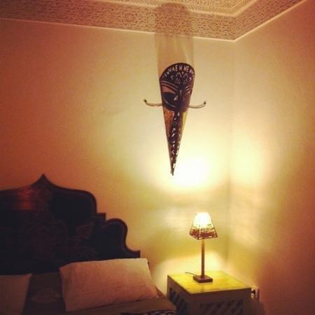 Riad Dar Alfarah: Bedroom of family suit