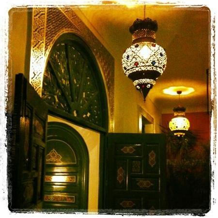 Riad Dar Alfarah: Lounge