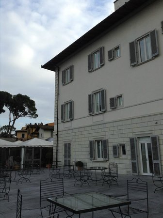 Villa La Vedetta: Hotel building