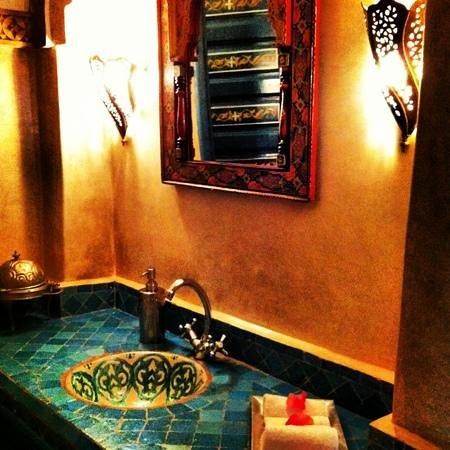 Riad Dar Alfarah: lobby toilets