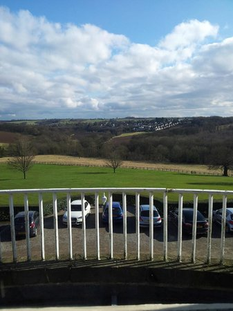 Wood Hall Hotel & Spa : View from room