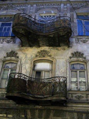 Old Town (Altstadt) Tbilisi: Art Nouveau balcony