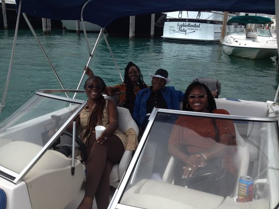 Golden Yacht Charters: My sisters birthday.