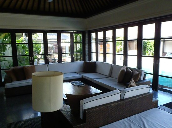 Peppers Seminyak: Villa 42 - Lounge Area