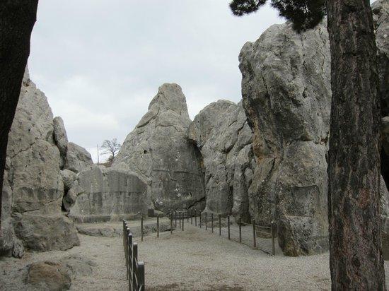 Bogazkale, Τουρκία: ヤズルカヤ遺跡 ・・・神が宿る岩山