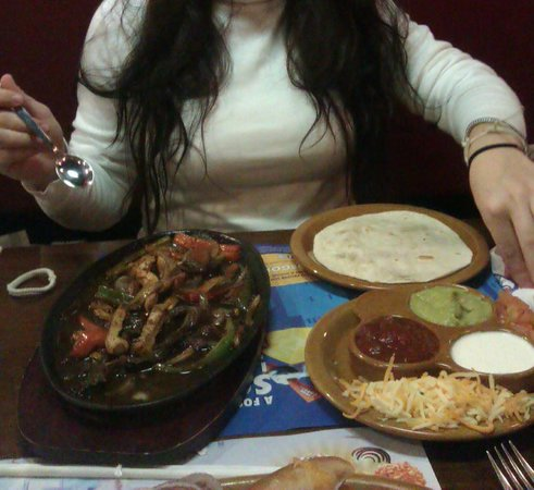 Foster's Hollywood: Fajitas