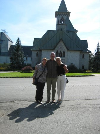 Saint Benedict Abbey : In front of the Abbey, with friends from Germany.