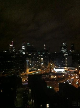 Premier Inn London City (Old Street) Hotel: view from room 1219