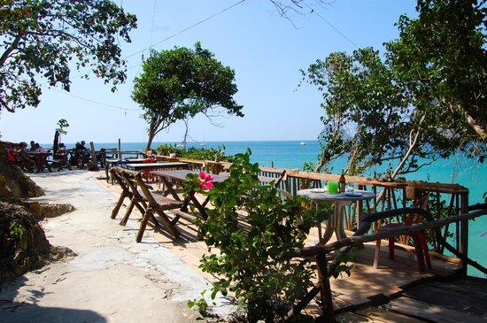 Koh Mook Charlie Beach Resort Restaurangen I Berget