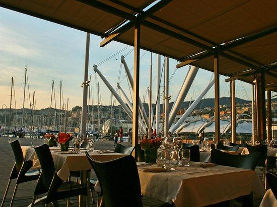 I Tre Merli Ristorante Porto Antico, Genoa Restaurant