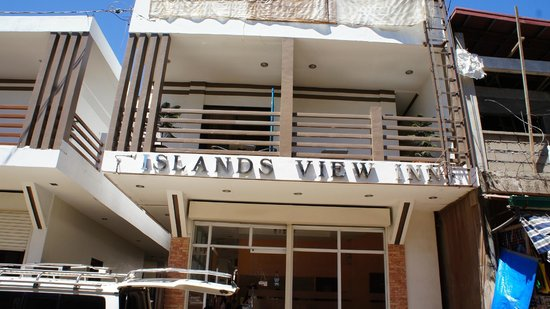 Islands View Inn: Front of the Hotel