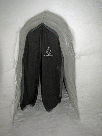 Snow Village: Eingang