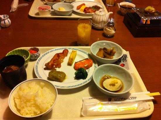 Hida Hotel Plaza: 朝食はビュッフェでした