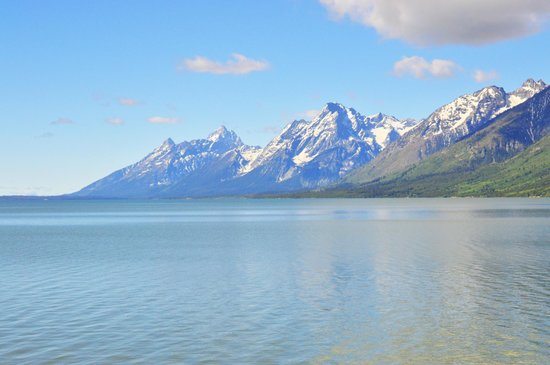 Teton National Forest: Lakeside View