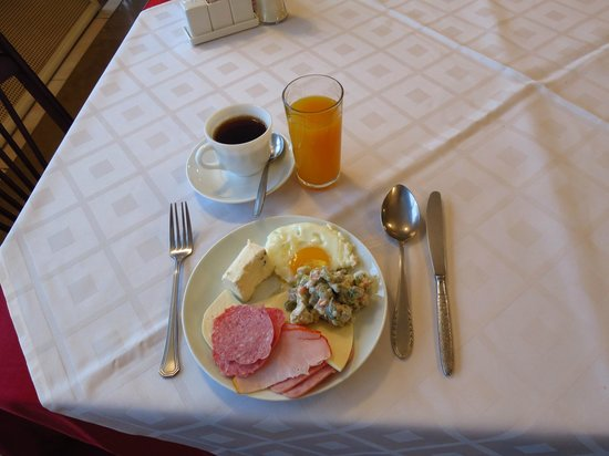 Shirak Hotel : Breakfast