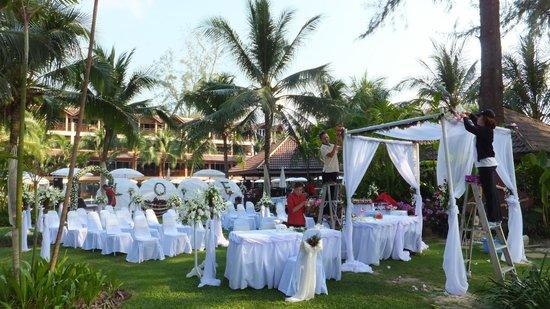 BEST WESTERN Premier Bangtao Beach Resort & Spa: preparation mariage