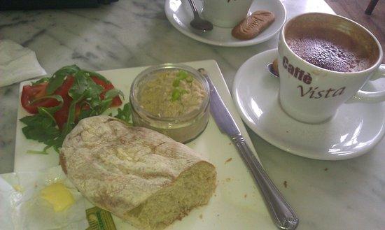 Caffe Vista : Tasty healthy breakfast