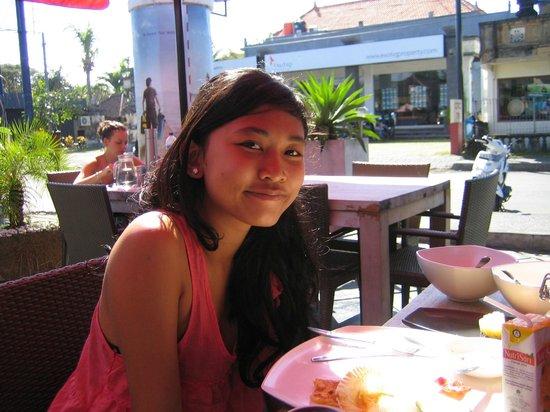 Santai Hotel: Frühstück