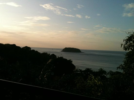 Chanalai Garden Resort: Udsigten fra altanen