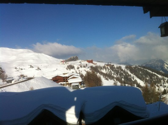 Chalet Bon Vie : View from breakfast table